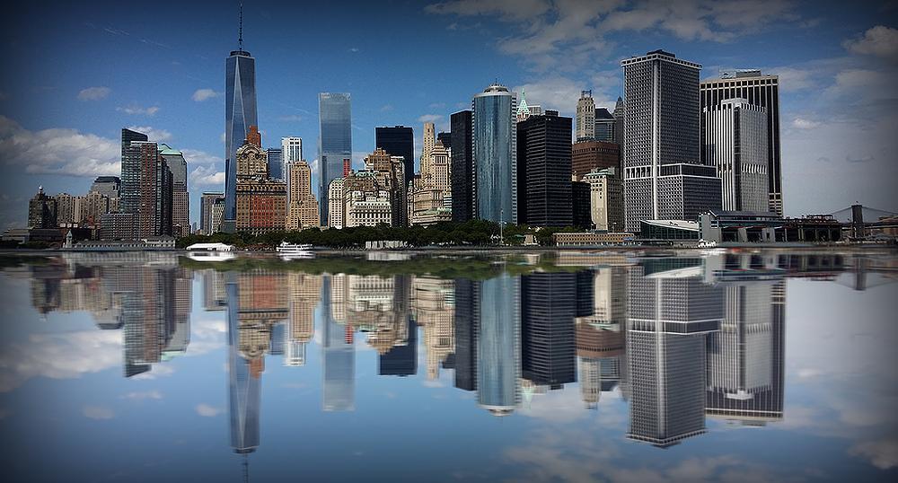 Photo in Cityscape #new york #mirror #city #photoshop