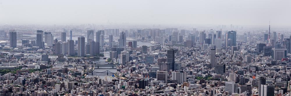 Photo in Landscape #panorama #tokyo #japan #cityscape #skyline