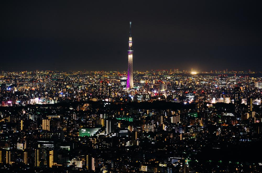 Photo in Cityscape #skyline #skytree #tokyo #japan #cityscape