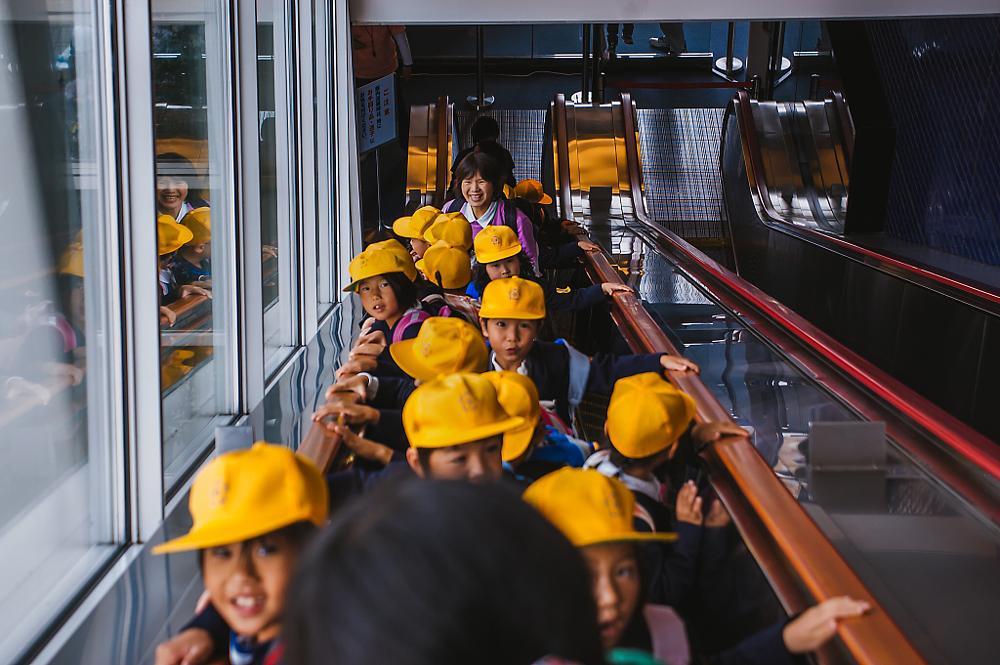 Photo in Travel #children #curiosity #osaka #japan