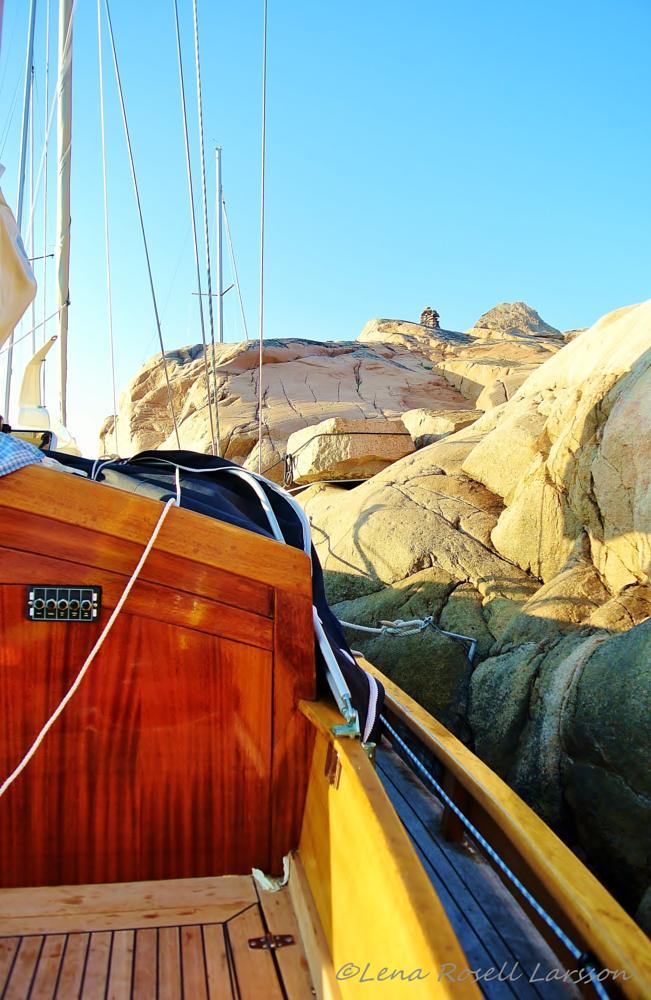 Photo in Still Life #sailing #resting #sailingboat #cliffs #summer