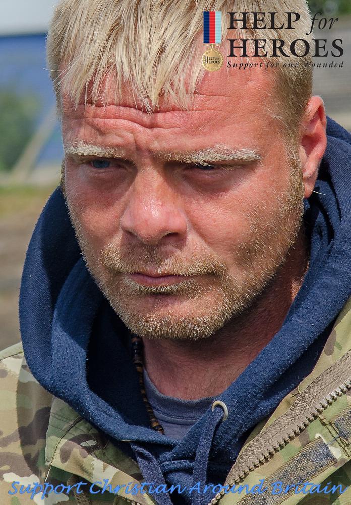 Photo in Portrait #christian around britain #christian nock #christian #help for heroes #army #walk #coastline