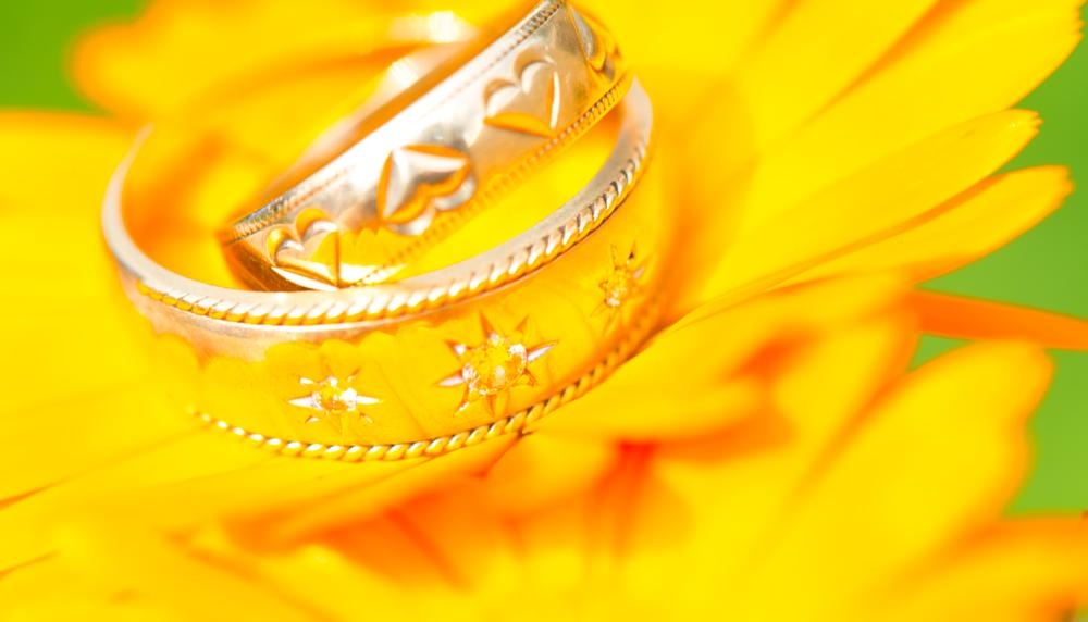 Photo in Wedding #wedding #wedding ring 2 #flower #orange #ring #essex #green