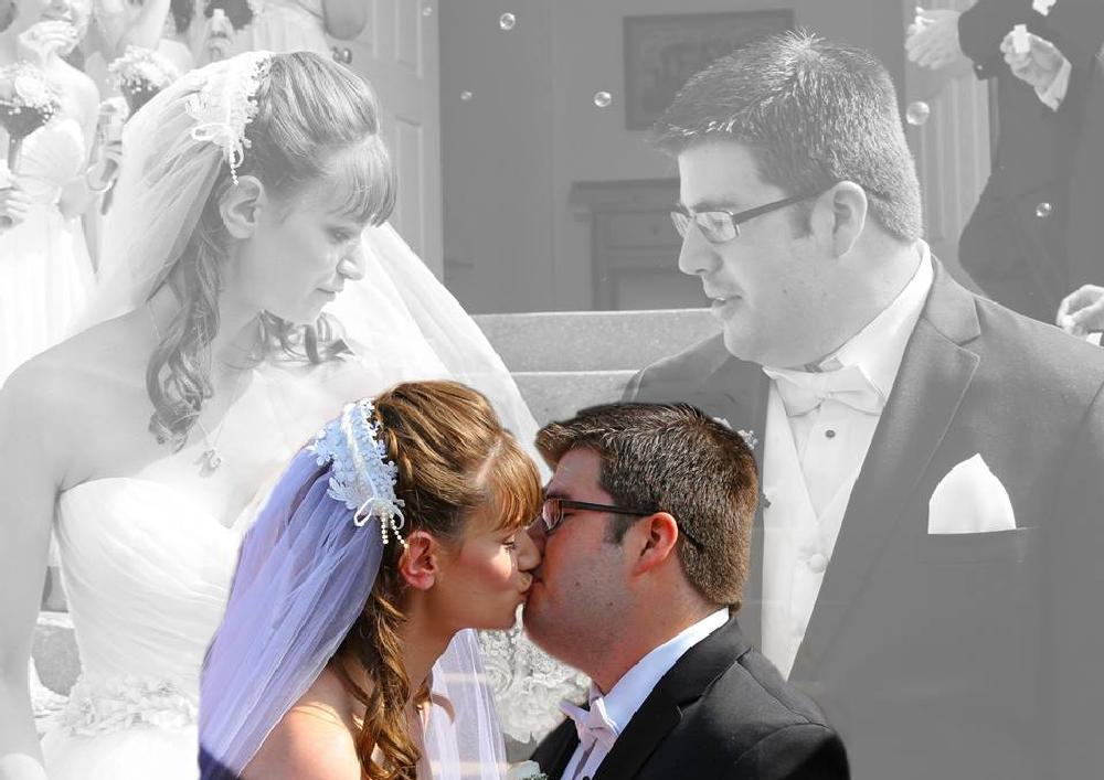 Photo in Wedding #wedding #church #bride #groom