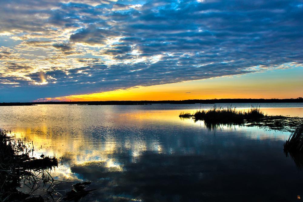 Photo in Landscape #lake sunset