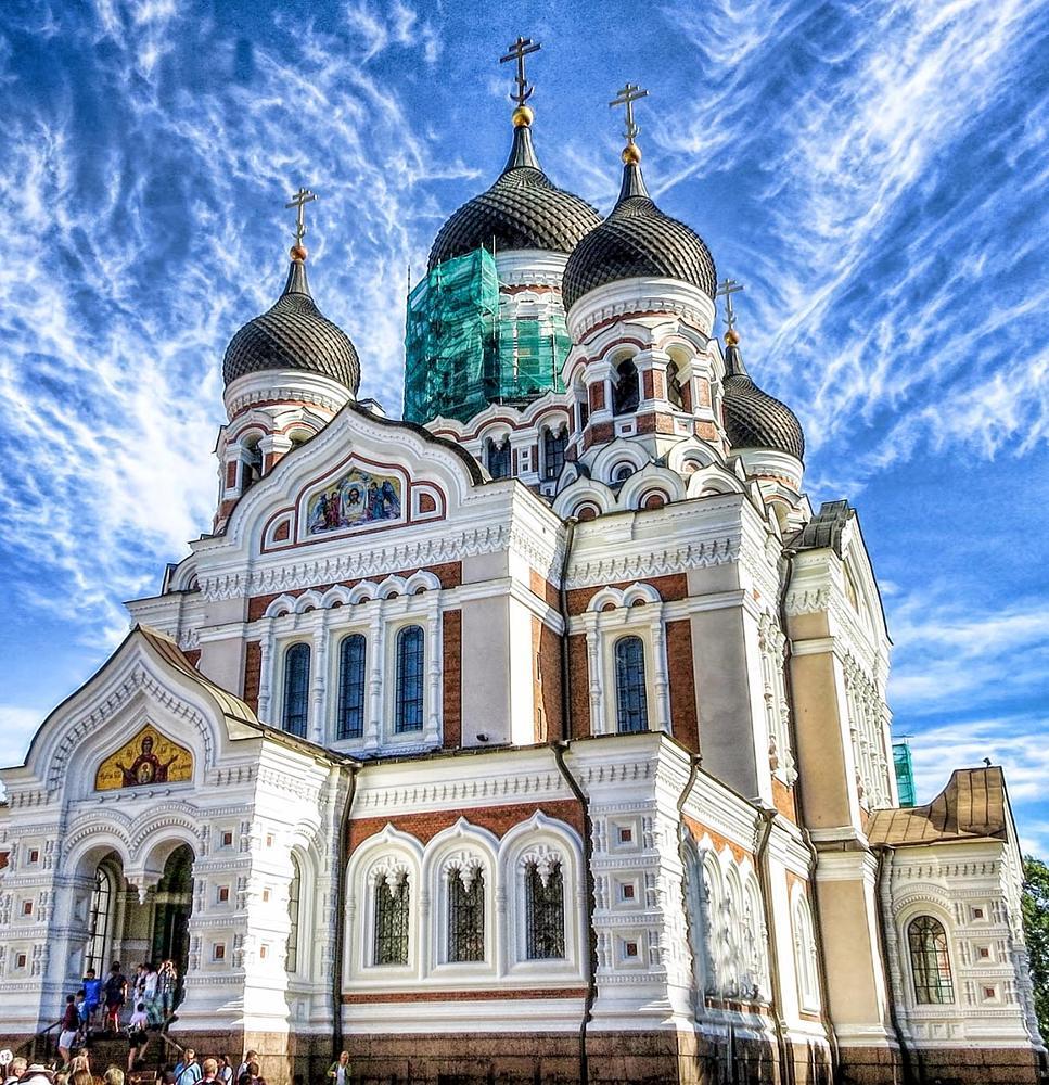 Photo in Travel #cathedral #tallinn #estonia