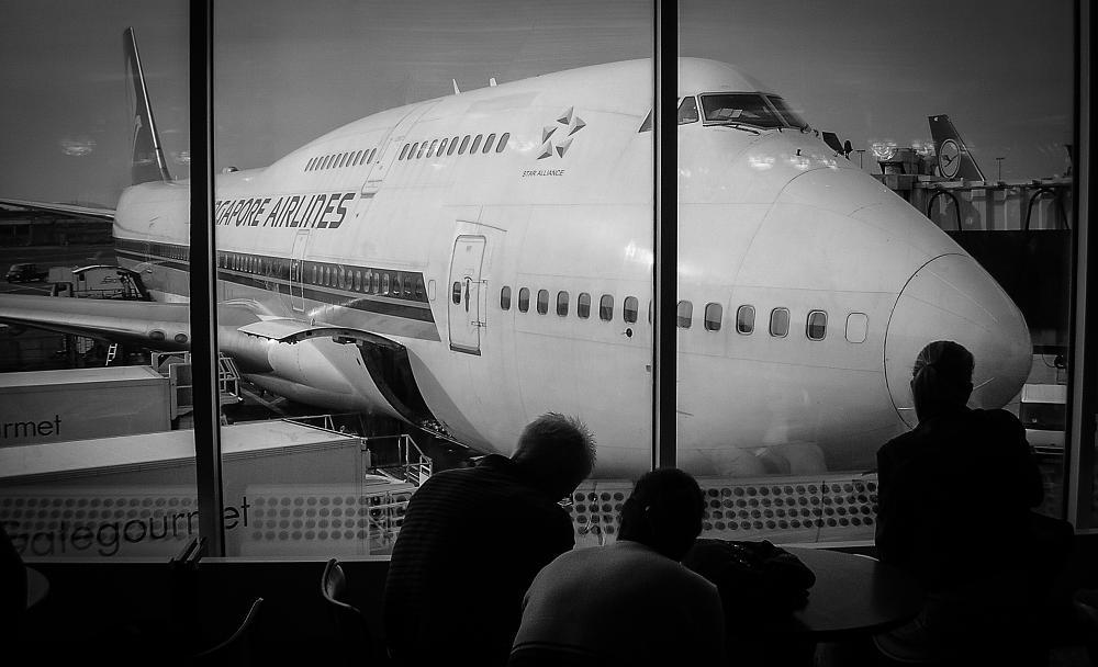 Photo in Travel #airplane #airport #boeing #jaromir tretina #singapore #singapore airlines #travel #traveler