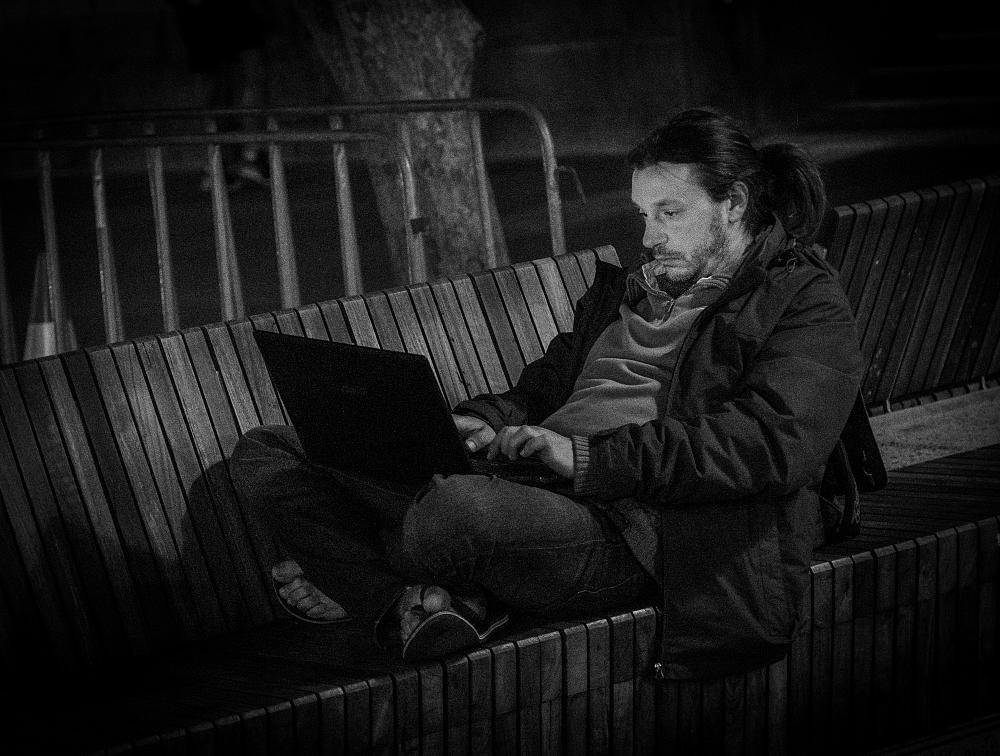 Photo in People #computer #information technology #jaromir tretina #lifestyle #man #perth #perth. western australia