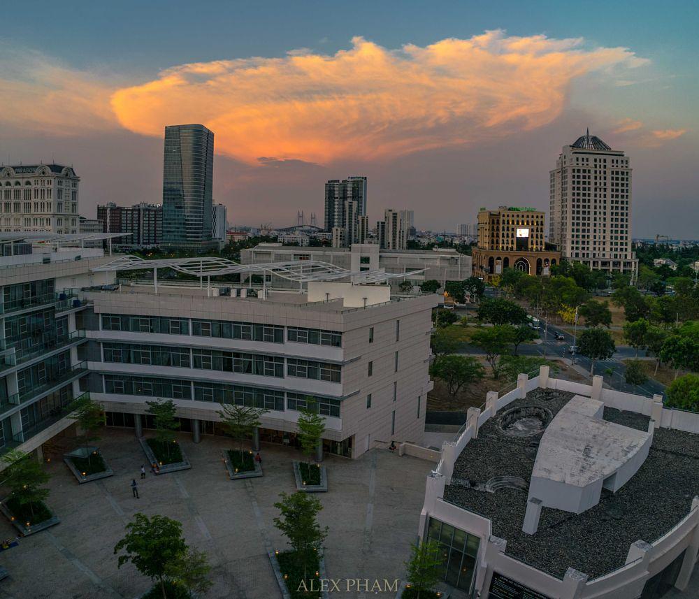 Photo in Cityscape #sunset #saigon