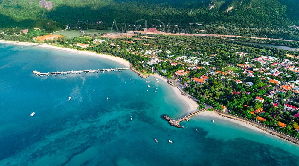 Photo in Landscape #con dao island #fromabove #vietnam