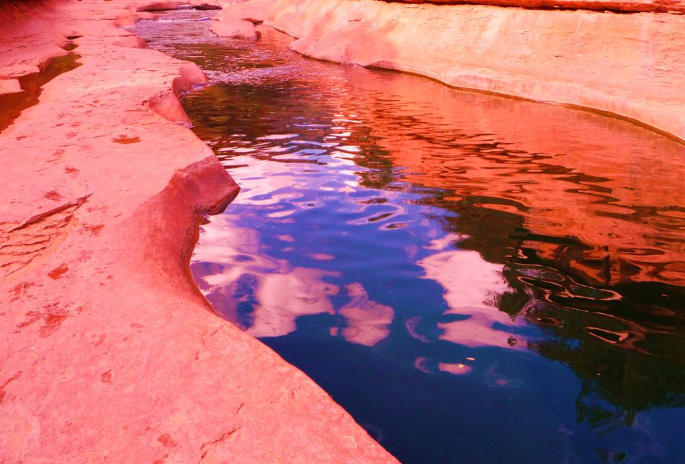 Photo in Landscape #arizona #refectingpool #redrocks