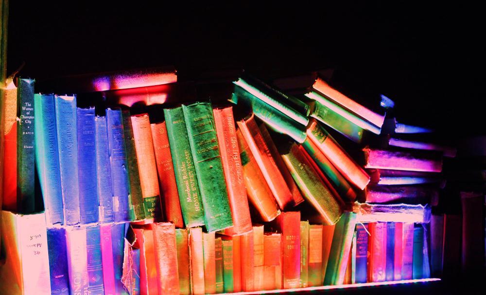 Photo in Random #books #lightupyourlibrary #makesyouwanttoread
