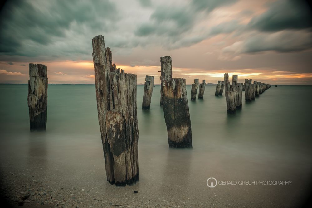 Photo in Landscape #pier #nd #time exposure #beach