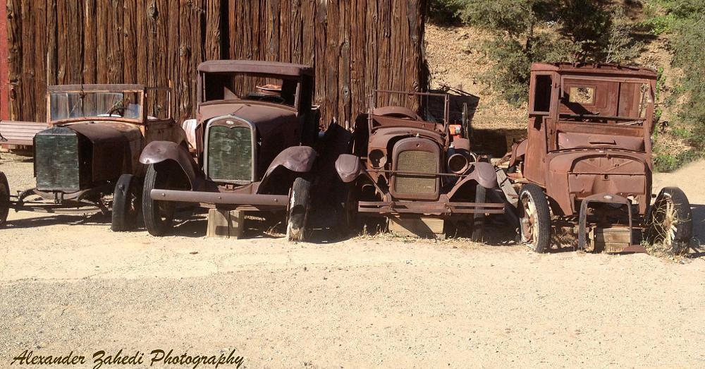 Photo in Vehicle #mining #julian #san diego #vintage #model t #rusty #rust bucket