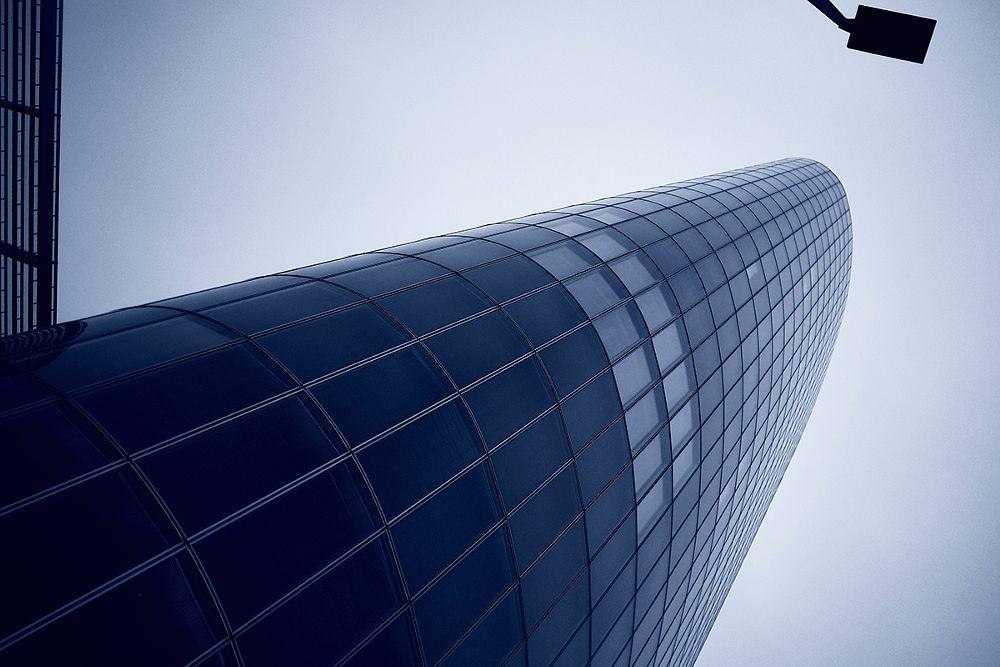 Photo in Cityscape #office building #urban scene #city #architecture #street #black and white #monochrome #agfa scala