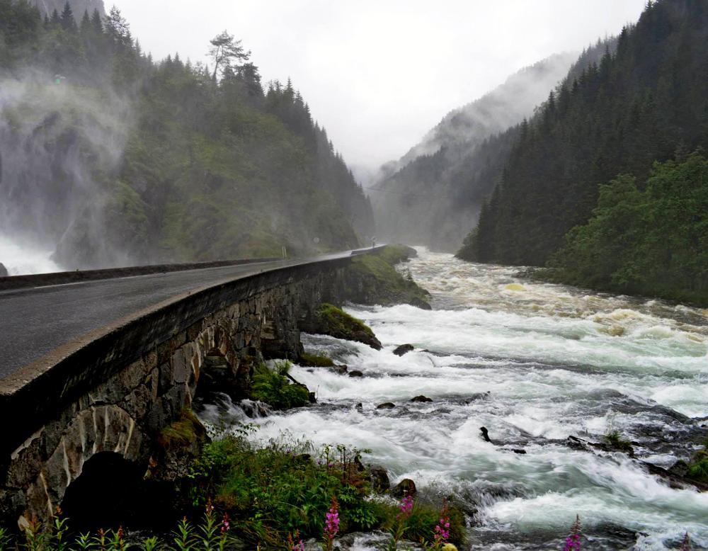 Photo in Landscape #waterfall #norway #låtefoss