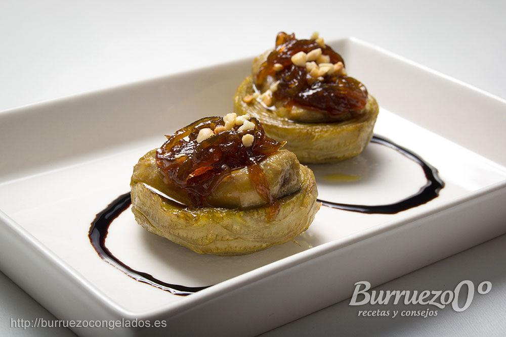 Photo in Food #recipe #alcachofas #foie #burruezo