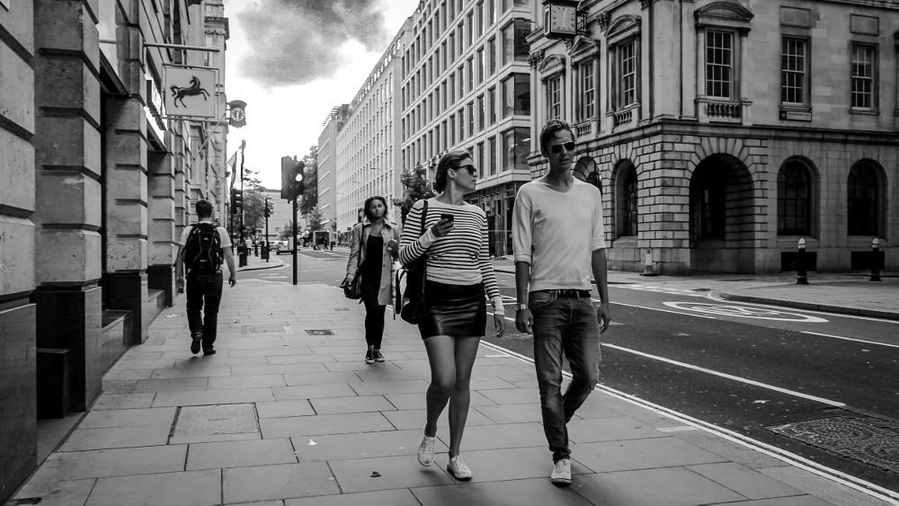 Photo in Street Photography #couple #street #london