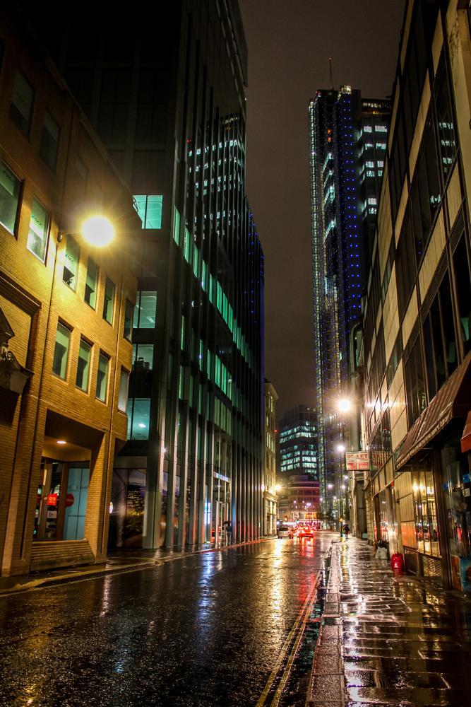 Photo in Street Photography #night #wet #london #street