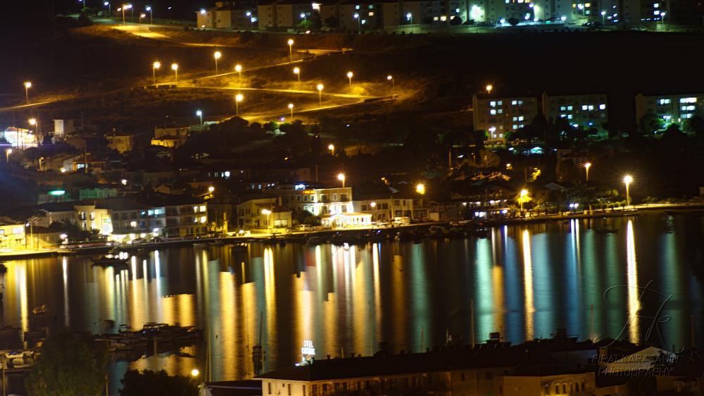 Photo in Landscape #light #bars #eski #foça