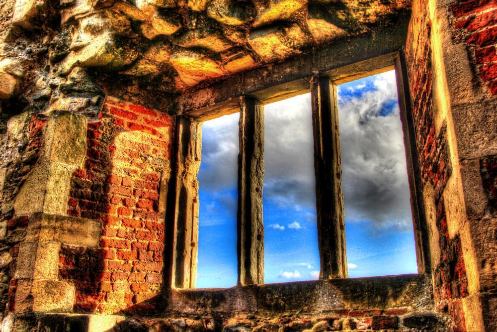 Photo in Random #window #abbey #england #ruin