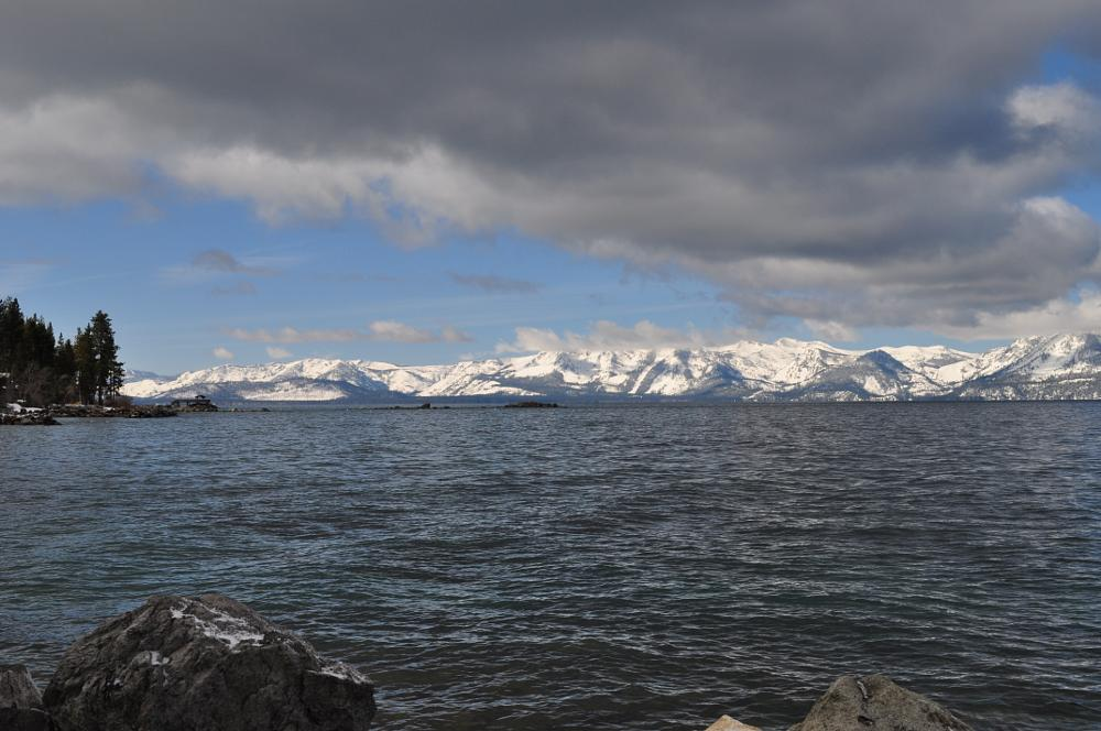 Photo in Landscape #tahoe #winter #very cold outside