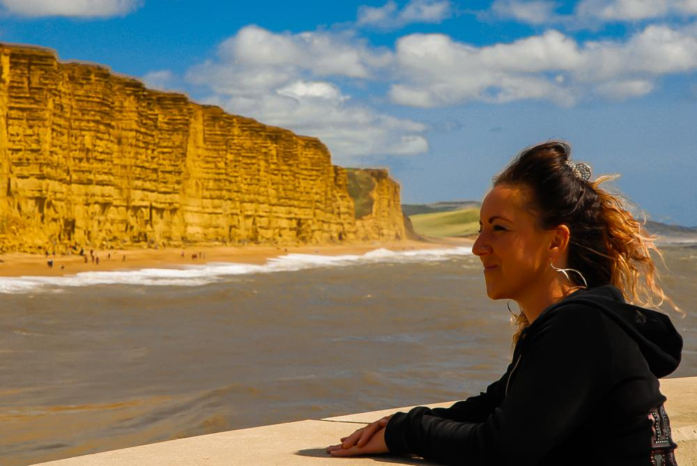 Photo in Landscape #broadchurch #cliff #westbay