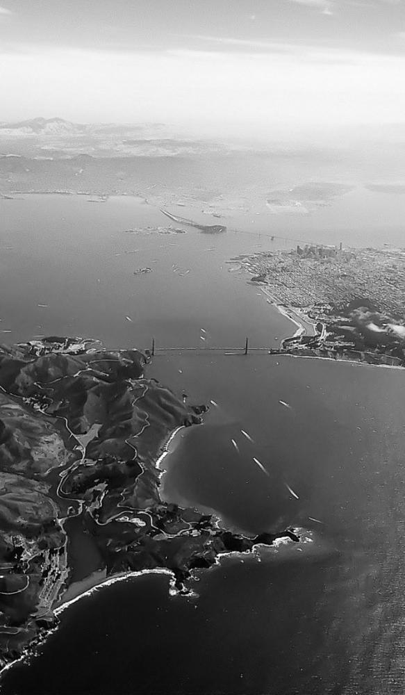 Photo in Black and White #san francisco #hk to sf