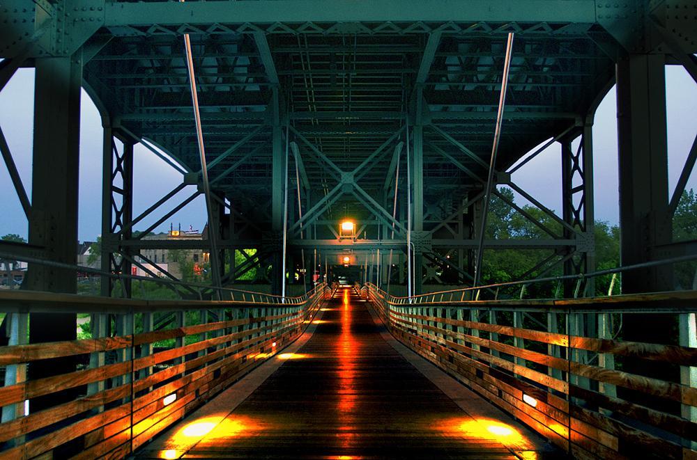 Photo in HDRI #brewery #milwaukee #river #bridge #hdr