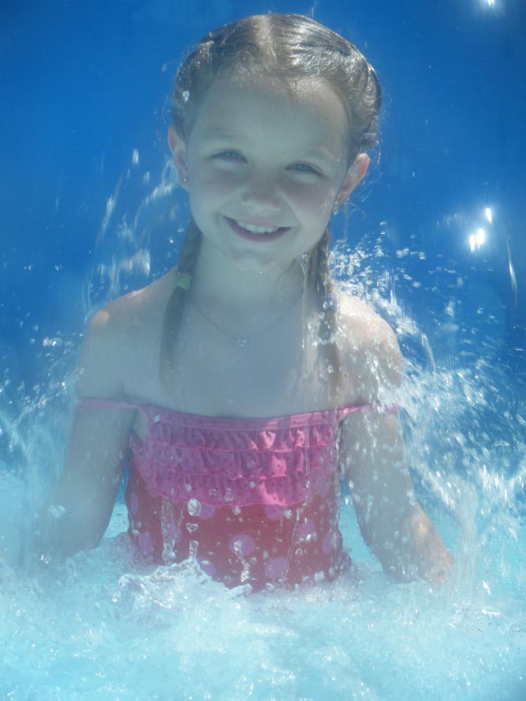 Photo in Family #water #swim #blue
