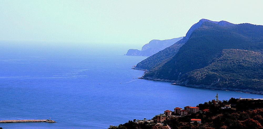 Photo in Landscape #sea #mountain #forest #landscape