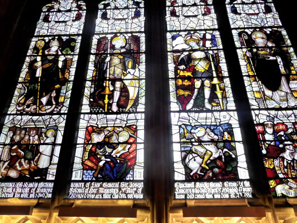 Photo in Architecture #gloucester #cathedral #stainglass #window #glass