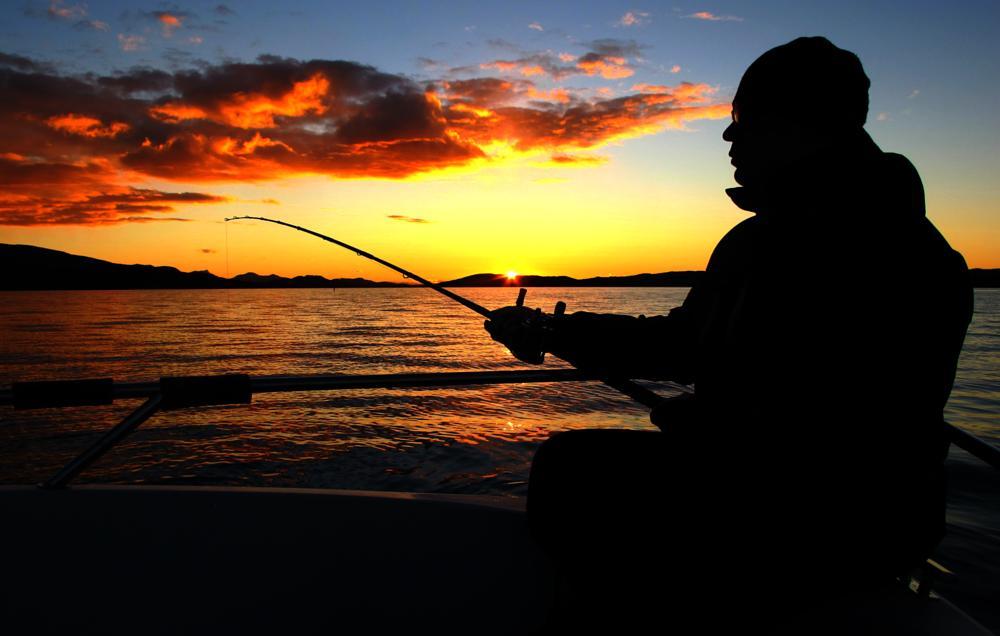 Photo in Nature #norway #sea fishing #sunset #nature #sea