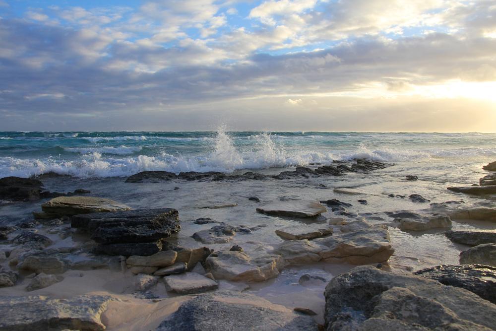 Photo in Sea and Sand #palmetto point #bahamas #atlantic #waves