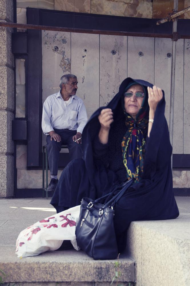 Photo in Street Photography #people #hamedan #old man #old woman