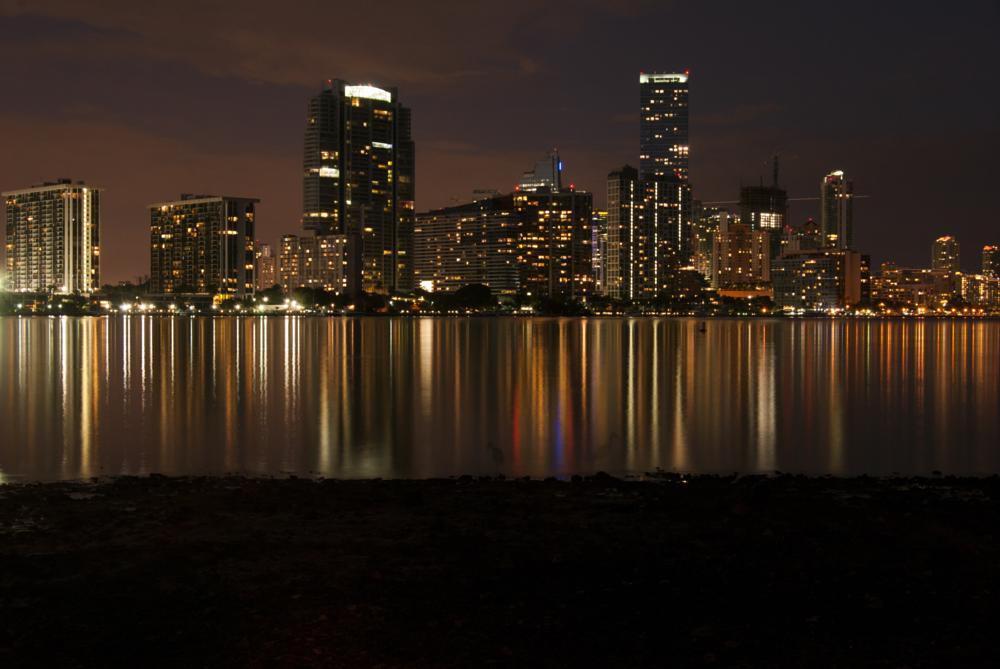 Photo in Cityscape #miami #city #night