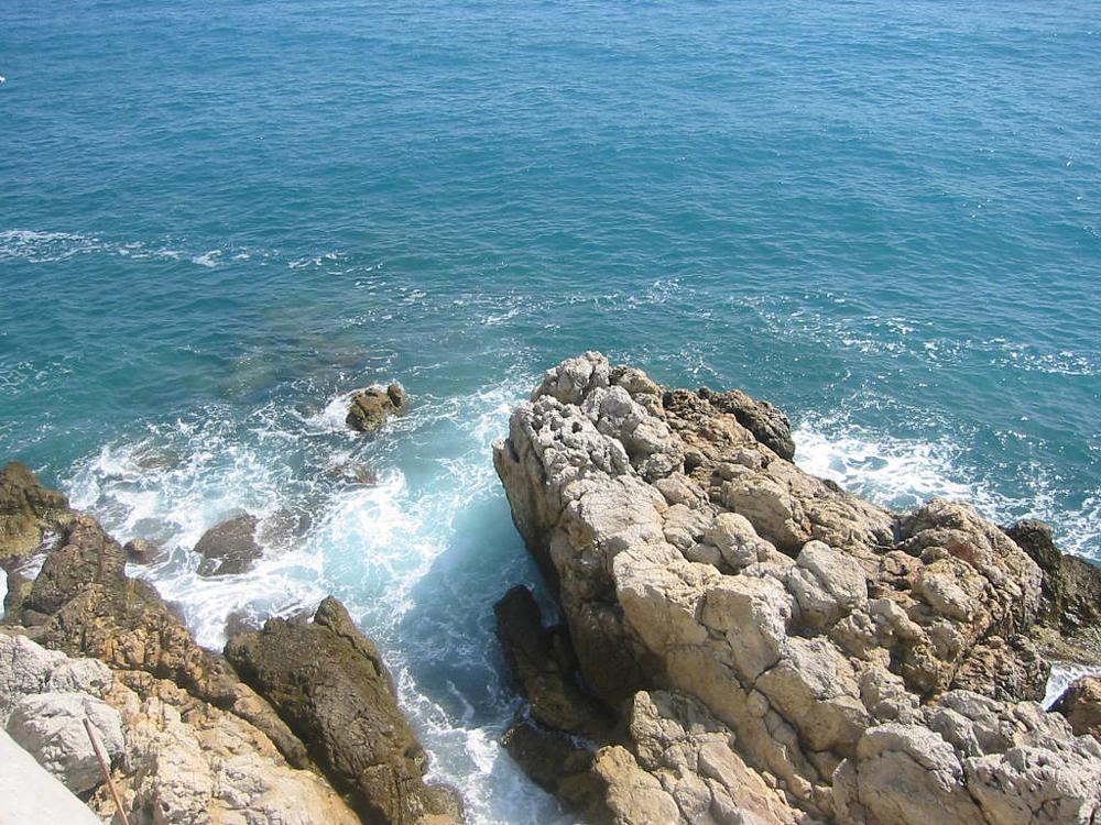 Photo in Nature #france #rocks #shore #sea #mediterranean