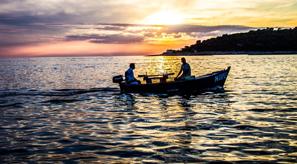 Photo in Travel #pula sunset