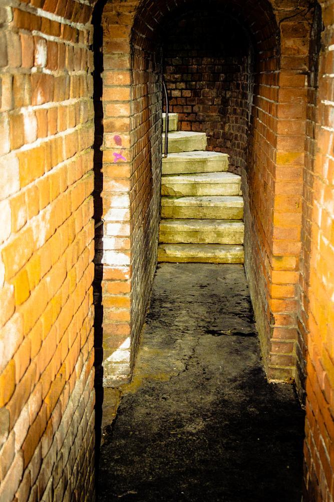 Photo in Architecture #stairs in sisak old bridge
