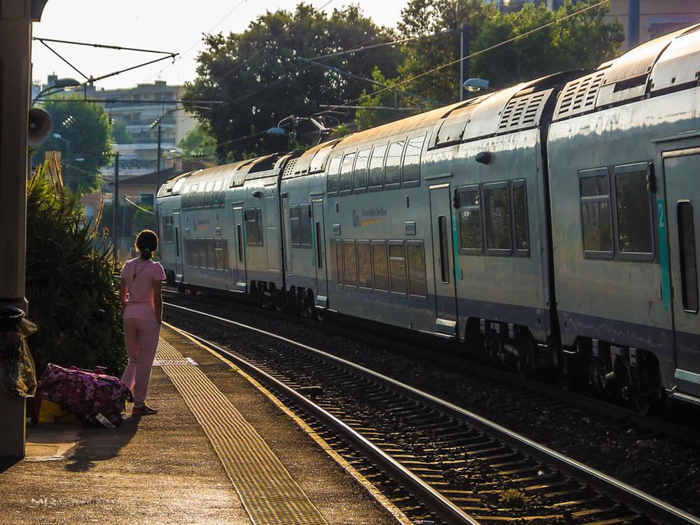 Photo in Cityscape #train station #antibes #france