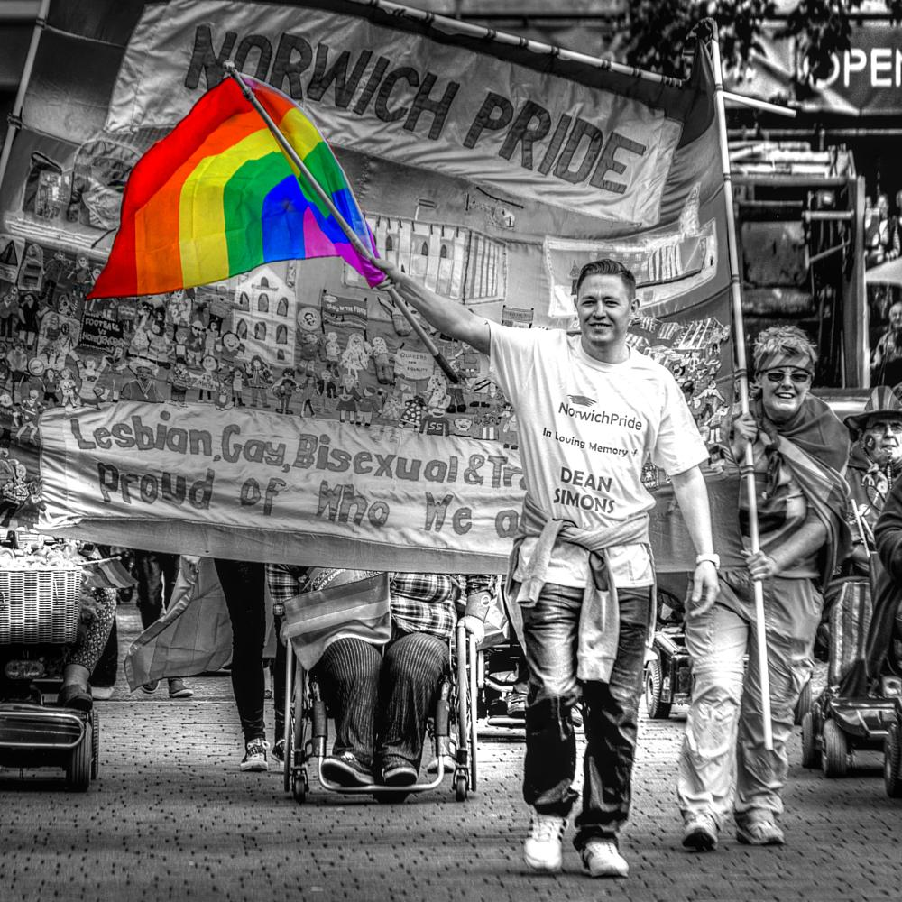 Photo in Street Photography #streetcontest #norwich #pride