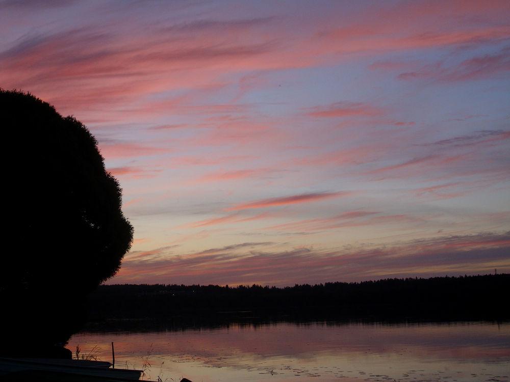 Photo in Random #mid night #summer #lake #finland