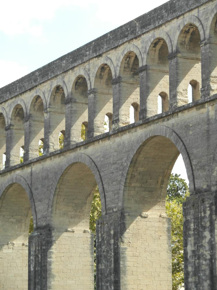 Photo in Architecture #saint clément aqueduct #montpellier #france #arch #17th #century #engineering #beautiful #architecture