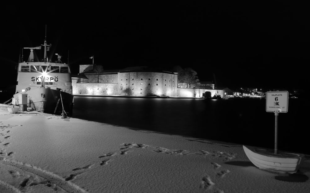 Photo in Black and White #winter #b & w #sweden