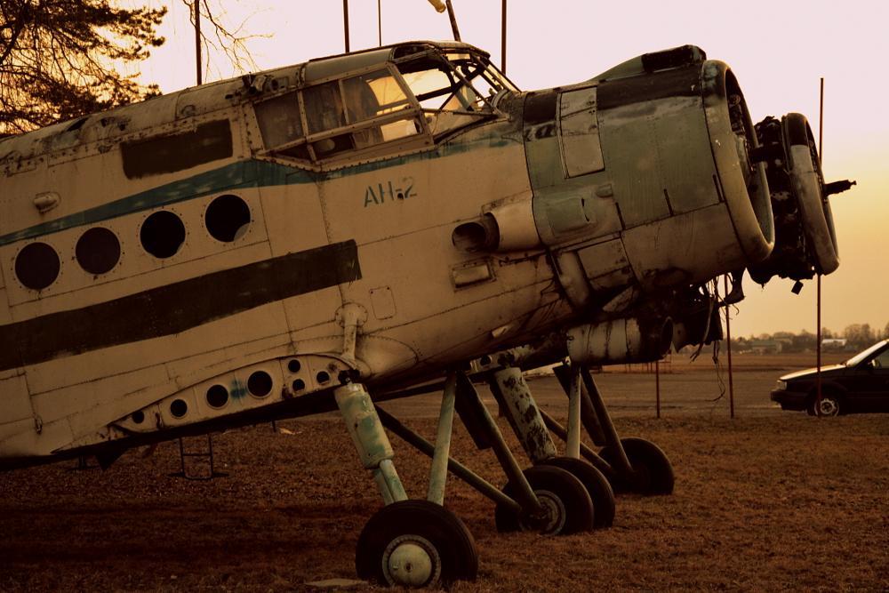 Photo in Random #plane #old #airport
