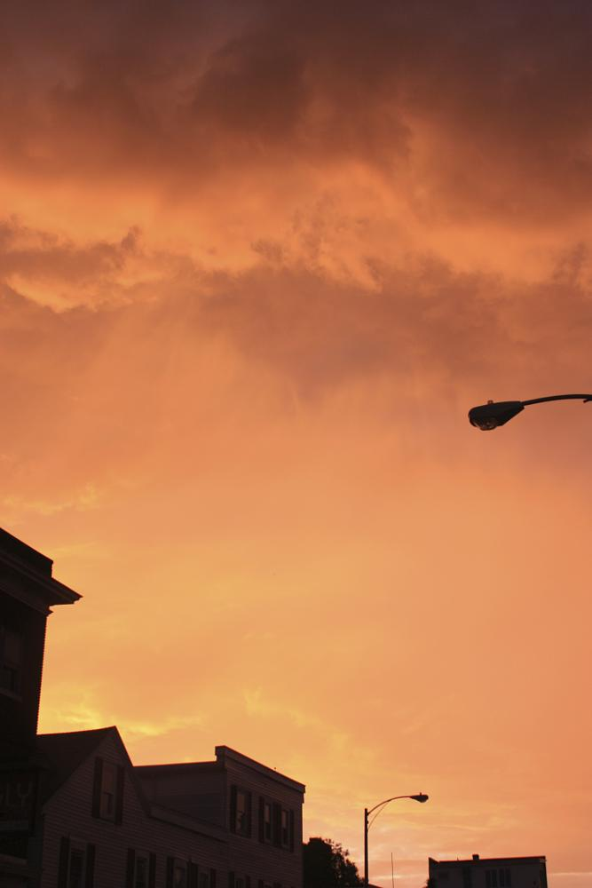 Photo in Cityscape #storm cloud #storm #city #spring #cloud #sky
