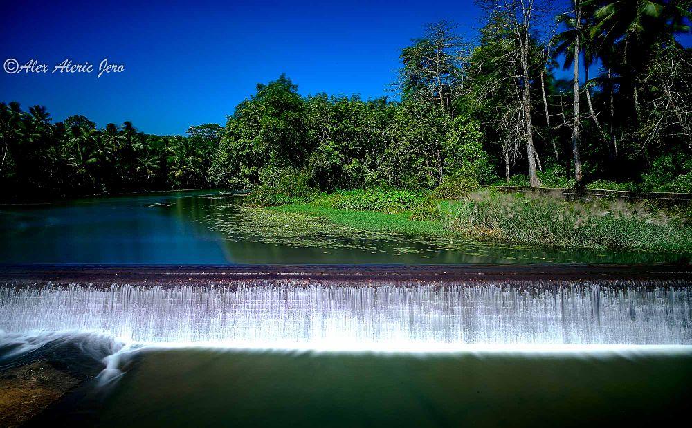 Photo in Nature #tirparappu waterfalls #kanyakumari #india #nature #water #tamil nadu #nikon