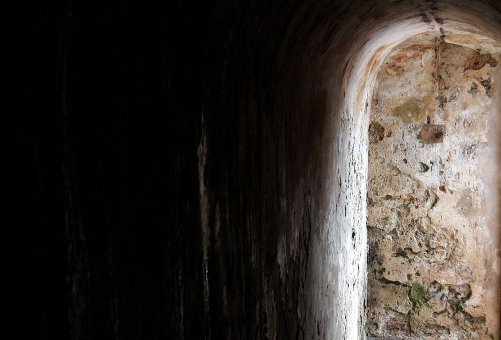 Photo in Random #sanjuan #puertorico #tunnel #lightplay