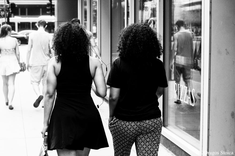 Photo in Street Photography #black and white #street photography #women