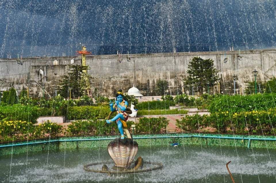 Photo in Travel #fountain #cloudy #deity #travel #kerala #krishna